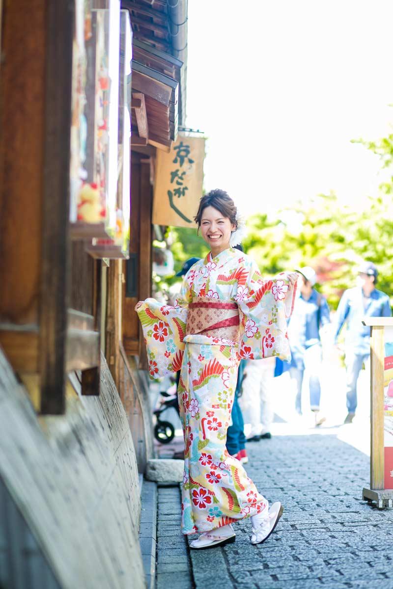 京都観光着物