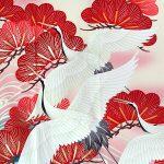 着物の柄 鶴