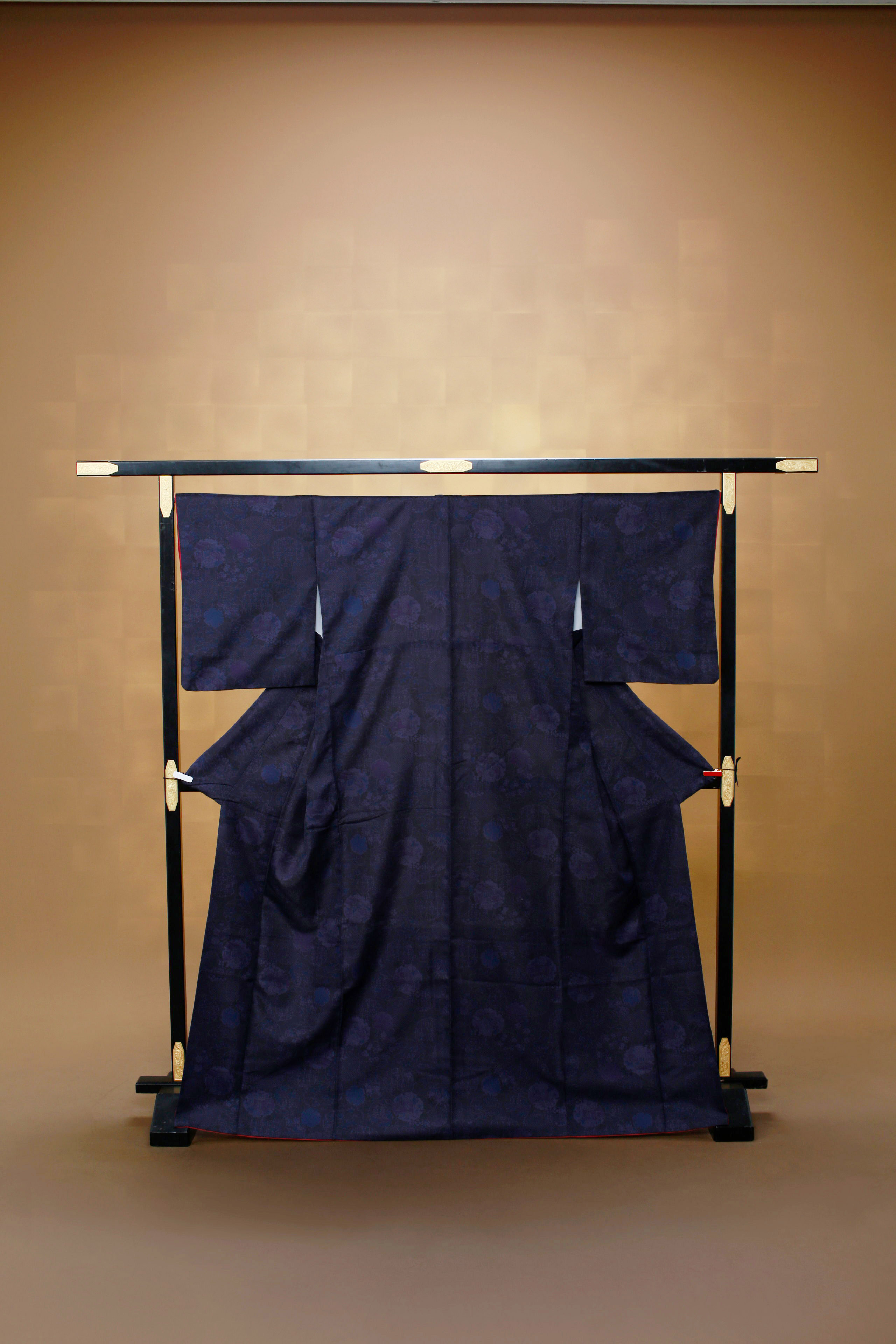 濃紺 古典 レンタル着物