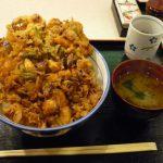 祇園 ランチ 天周 かき揚げ丼