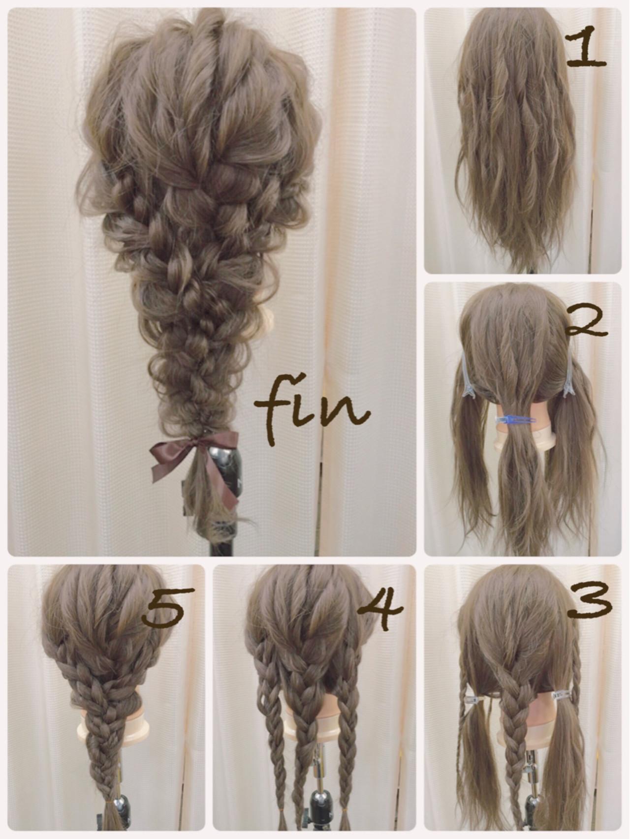 着物 髪型 ロング
