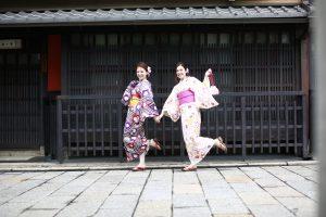 京都 巽橋周辺 町屋