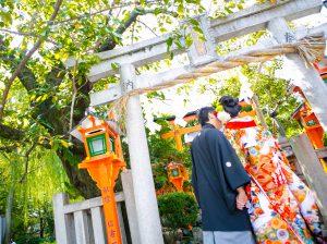 京都 巽橋周辺