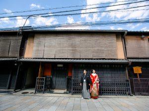 京都 巽橋 町屋
